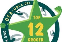 Top 12 Right To Know Grocers / OCA's Top Right to Know Grocers contest was originally seen as a way to acknowledge the pioneering grocers taking the GMO-free mission to heart through their store policies and purchasing practices, but it is also inspiring other grocers to take the next step in protecting customers from the dangers of genetically engineered foods. These are the winners of the 2013 Right To Know Grocers Contest. / by Organic Consumers Association