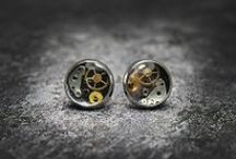 Industrial / industrial and steampunk jewelry