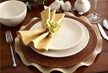Fashion on Fours / Tableware and stylish settings