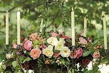 Flower arrangements. / Modern flower arrangements and ideas