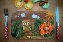 Food art for picky eaters / Healthy food for kids, picky or fussy eaters.