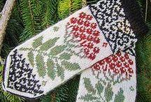 Druty - rękawiczki