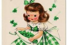 A LITTLE IRISH / St. Patrick Day illustrations / by Marion Sullivan