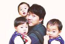 Triplets Daehan, Minguk, Manse