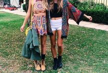 Festival fashion / Festival outfits and accessories