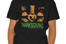 I Love Thanksgiving / design my 14 year old did
