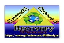 Waterway Cleanup team / Lets Pay It Forward and help the Environment by funding M & M Designs waterway cleanup, at https://www.gofundme.com/MMDesigns