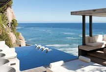 My dream house at sea / Inspiration for our dream home at the Mediterranean Sea