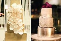 Metallic Cake Inspiration