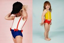 Beachwear / Stylish swimsuits for babies and children.