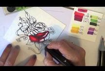 Coloring With Spectrum Noir / Coloring with Spectrum Noir Markers. Tips & tutorials