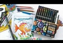 Coloring With Chameleon Markers / Coloring With Chameleon Markers. Tons of tips and tutorials.