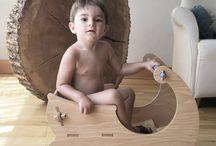 Mobiliario infantil y juguetes Chinpum / Mobiliario infantil y juguetes ecológicos hechos a mano en España