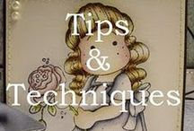Coloring With Distress Inks / Coloring With Distress Inks. Tips & tutorials.