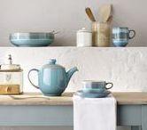 Azure / Denby Azure - Handmade Stoneware from England