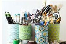 Organization Ideas / For my OCD tendencies!
