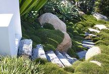 Záhrady a terasy - Gardens / Inšpiratívne exteriérové priestory a záhrady