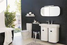 Porcelana sanitaria / Sanitary ware / Aquí encontraras todos los productos que manejamos para diseñar el espacio de tu baño.