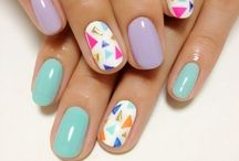 N A I L S  / Pretty polishes and nail art galore / by TheBeautyBank