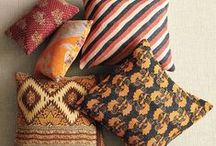 pillows, rugs & textiles