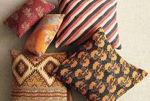 pillows, rugs & textiles