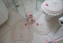 Crochê Banheiro