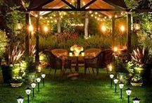 Backyard Spaces And Ideas / Garden Rooms And Inspiration / by Tammy