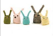 toy bunnies / by Kristina Larsen