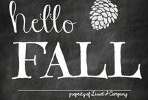 Fall! / by Nikki Westbrook