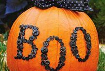 Pumpkin decorating / by Nikki Westbrook