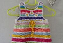 Pretty little crochet dress / dress, jurk, crochet, haken, handgemaakt, handmade, girls, baby, girl, child, pretty
