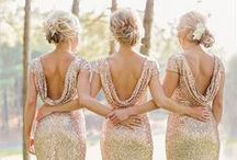 ..Bridesmaid Dresses.. / Get inspired to find a fit, color and style for every girl in your bridal party.  Find new trends and styles!  For more visit www.itgirlweddings.com