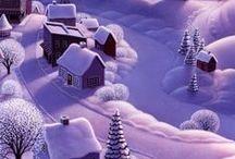 Новый Год и Рождество. / О красоте  этих праздников.