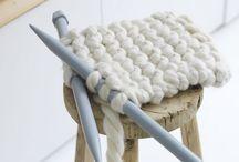 wool / knit / cotton