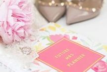 ..Books + Planners.. / Books that inspire and planning tools that brides love!