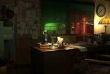Miniatur Detectiv office