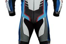 PSí Men's leather suit - RACING ASTAROTH / PSí Racing suit created by italian designer Marco Malangone