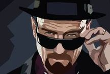 """Breaking Bad / """"I am not in danger, Skyler. I AM the danger. A guy opens his door and gets shot, and you think that of me? No! I am the one who knocks!"""" (Walter White)"""