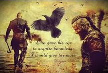 """Vikings (TV) / """"Warriors don't show their heart until the axe reveals it."""""""