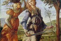 My favourite renaissance painter / Boticelli festményei, nem lehet betelni velük.