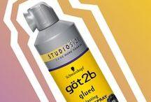 göt2b glued / göt2b glued: featuring styling SPIKING GLUE, blasting FREEZE SPRAY + invincible STYLING GEL!  / by göt2b USA
