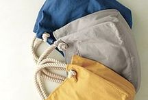 SEWING :: bags / Inspiration for sewing bags.