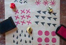 TEXTILES :: printing, stamping, dyeing / Inspiration for printing, stamping and dyeing textiles.