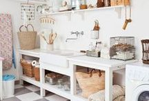 HOME :: laundry room / Ideas for the perfect laundry room.