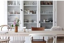 HOME :: dining room / Ideas for the perfect dining room.