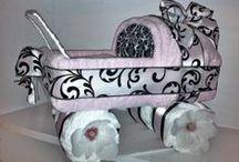 Diaper cakes...