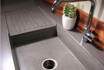 Concrete Sinks / Concrete Sinks