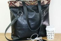 Handmade bags / Handmade bags from upcycled materials. Reused leather, old sails, jeans get a new life as a OOAK bag. Recycled materials are used for these unique bags. Great laptopbags, workbags, businessbags, crossbody bags and other bags for business or pleasure.