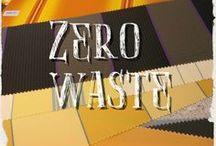 Zero Waste / Op weg naar een leven zonder afval. Minder verpakkingen en zoveel mogelijk hergebruik van materialen.