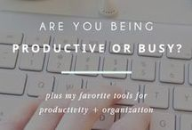 productivity / Tips for time management, motivation, productivity, project management, staying on track